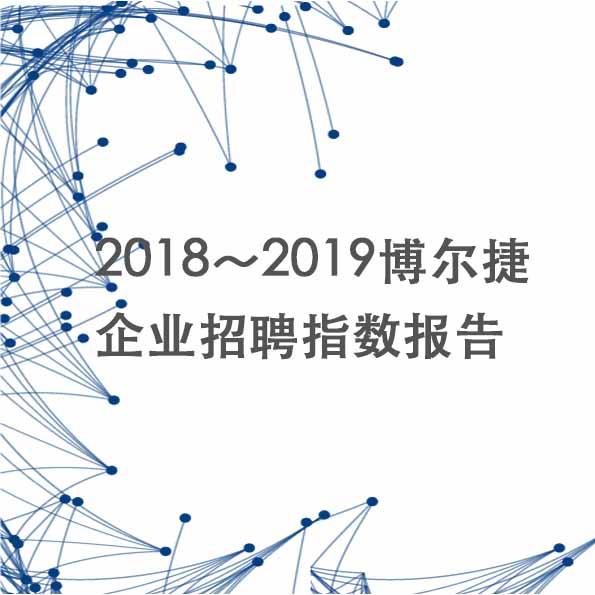 2018~2019博尔捷企业招聘指数报告